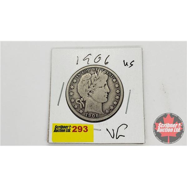 USA Half Dollar 1906