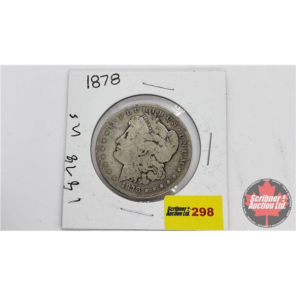 USA Morgan Dollar 1878