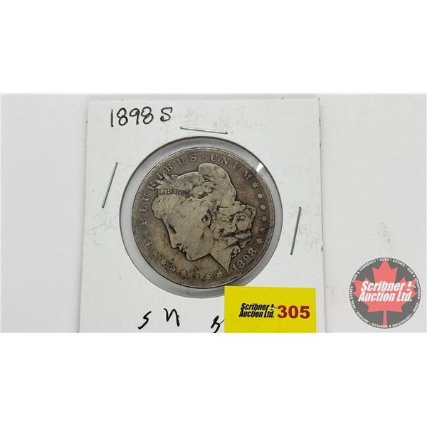 USA Morgan Dollar 1898S