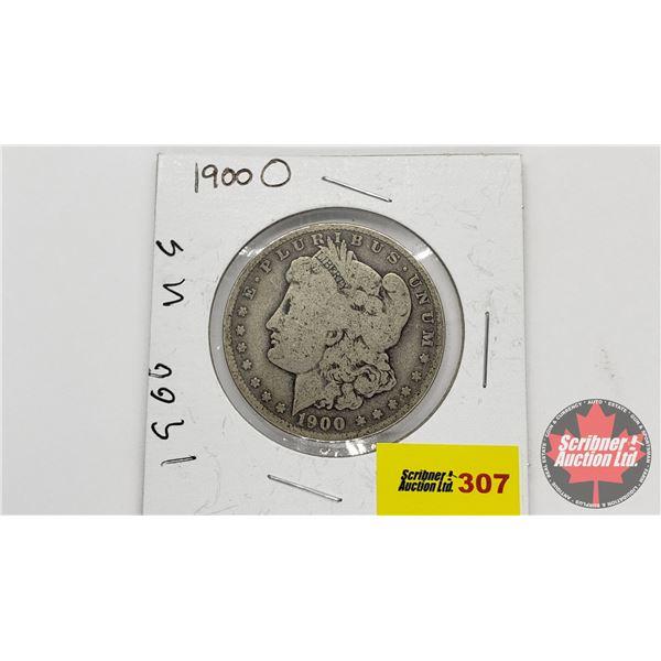 USA Morgan Dollar 1900O