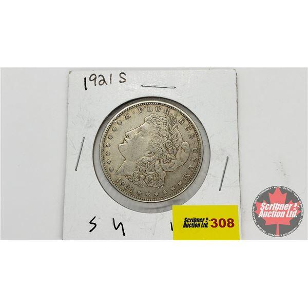 USA Morgan Dollar 1921S