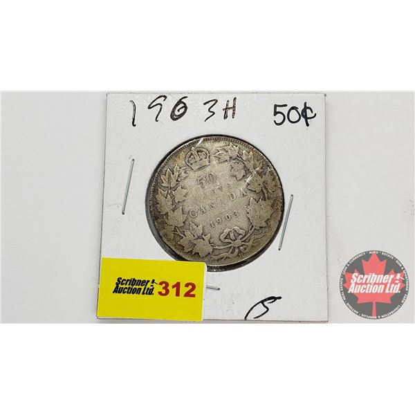 Canada Fifty Cent 1903H