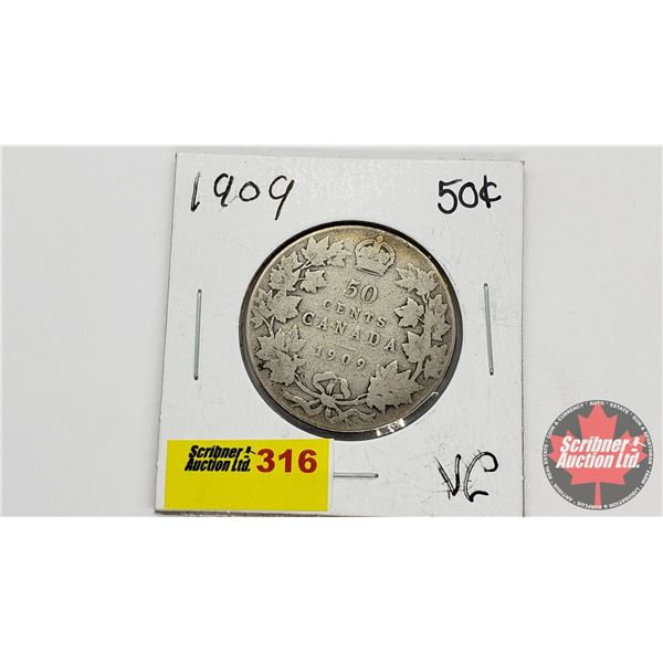 Canada Fifty Cent 1909
