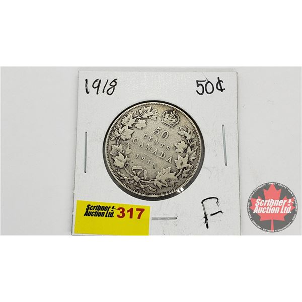 Canada Fifty Cent 1918