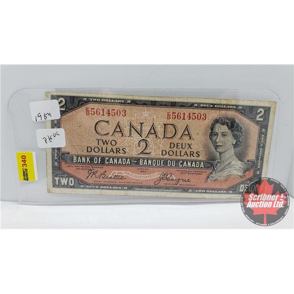 Canada $2 Bill 1954 : Beattie/Coyne EB5614503