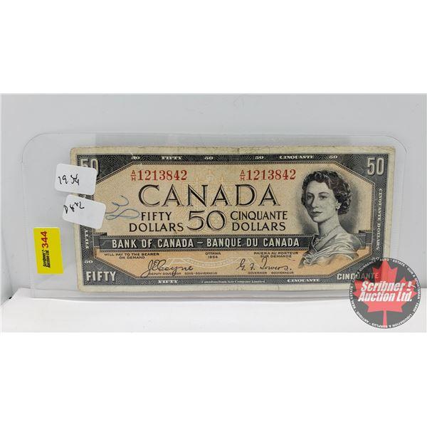 Canada $50 Bill 1954 : Coyne/Towers AH1213842