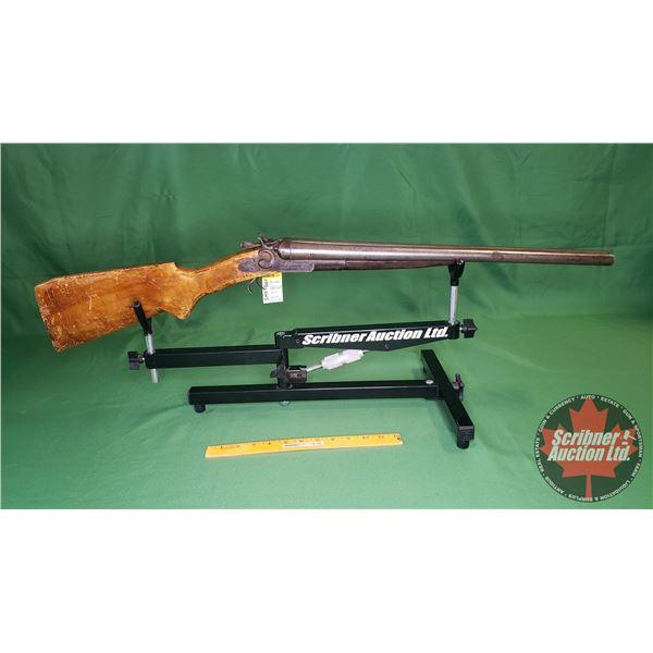 Shotgun: Remington Exposed Hammers 12ga Break Side x Side (Missing Trigger Guard) (S/N#N/A)