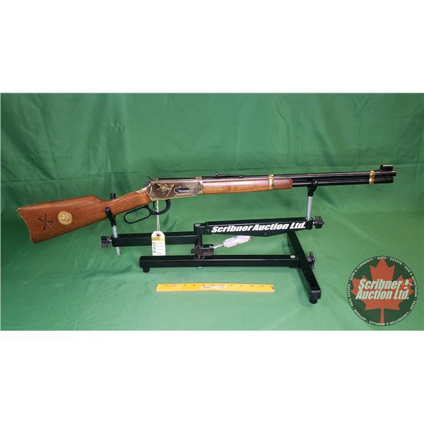 """Rifle: Winchester """"Little Big Horn Centennial 1876-1976"""" Commemorative 44WCF Lever w/Saddle Ring """"th"""