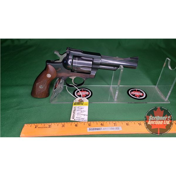 Hand Gun ( PROHIB ) : Ruger Security-Six .357 Magnum Revolver (S/N#15800102) BBL Length 102mm