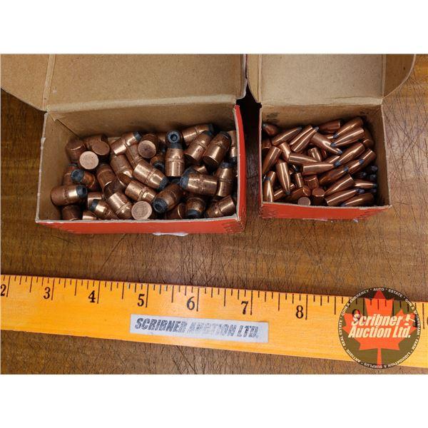 BULLETS: Hornady 38cal (73) & Hornady 22cal (77)