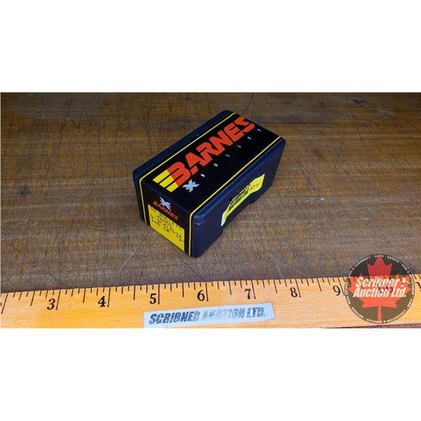 BULLETS: Barnes 6.5cal (140gr) (1 Box : 50 Count)
