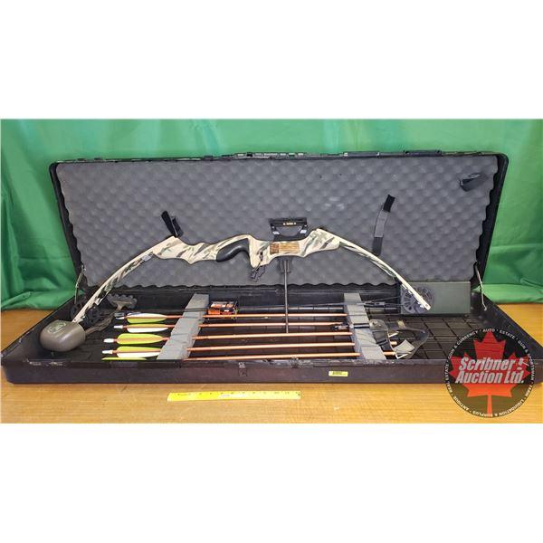 Martin Bengal Compound Bow w/Case (Incl: 5 Arrows, 1 Quiver, Trigger & Extra Arrow Heads) (Note: Cas