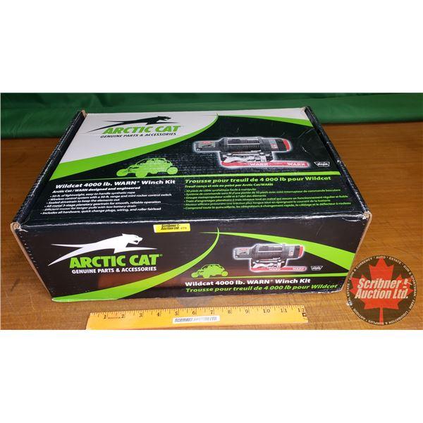 New Surplus: Arctic Cat - WARN 4000lb Winch Kit for Wild Cat