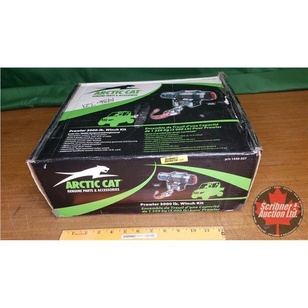 New Surplus: Arctic Cat - WARN 3000lb Prowler Winch Kit