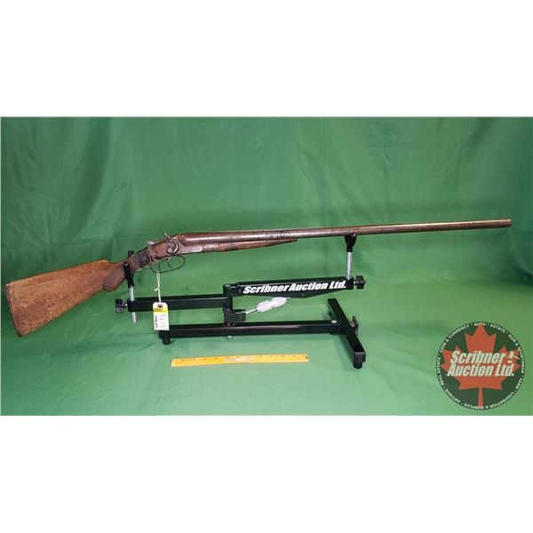 Shotgun: New Baker 1898 Side x Side 12ga - Break (S/N#31008)