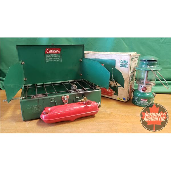 Coleman Campers Combo: Cookstove & Easi-Lite Lantern
