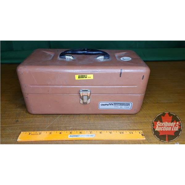 Old Pal Woodstream Tackle Box (Metal)