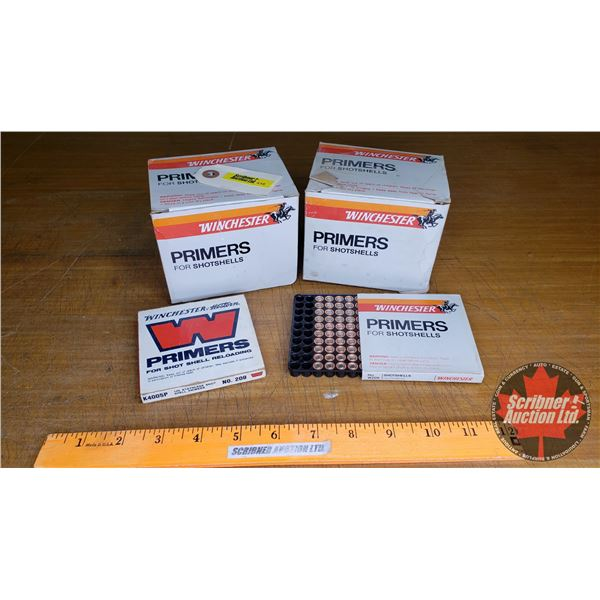 PRIMERS: Winchester For Shotshells (1640 Count)