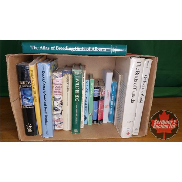 Box Lot: Bird Books (17) (Audubon Handbook, Field Guide, Informational, etc)