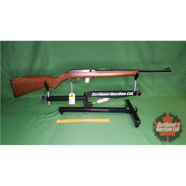 Rifle: Marlin 70 Semi Auto 22 (S/N#18566963)