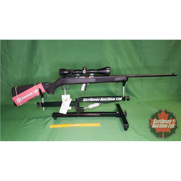 Rifle: New Surplus: Savage 64F Semi Auto 22LR w/Scope 3-9x40 (S/N#3639819)