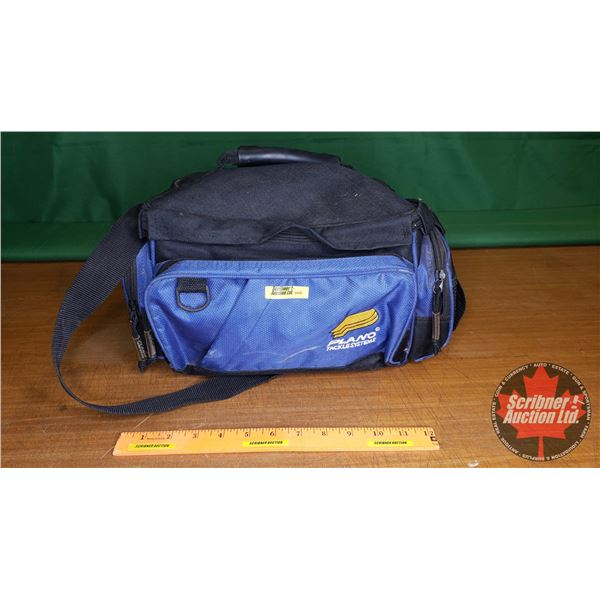 """Plano Tackle System Bag (Blue & Black) w/Contents (Ready to go!) (14""""L x 9""""W x 8""""H)"""