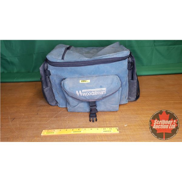 """Woodstream Tackle Bag (Green) w/Contents (Ready to go!) (17""""L x 13""""W x 10""""H)"""
