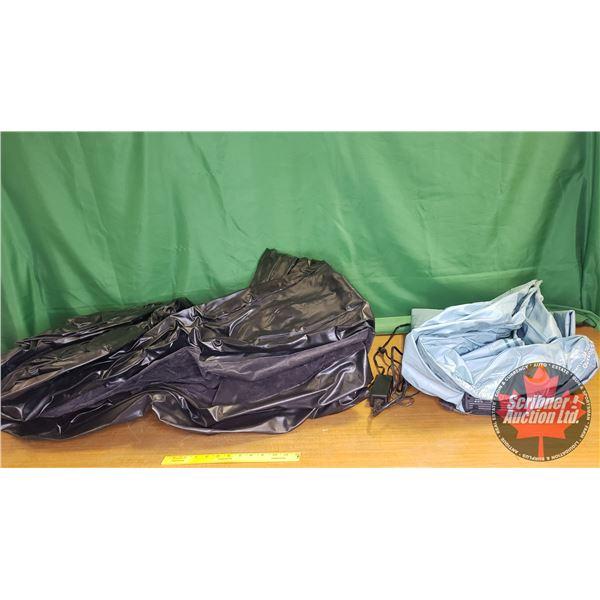 Air Mattresses (2): Broadstone (Black) & Blue