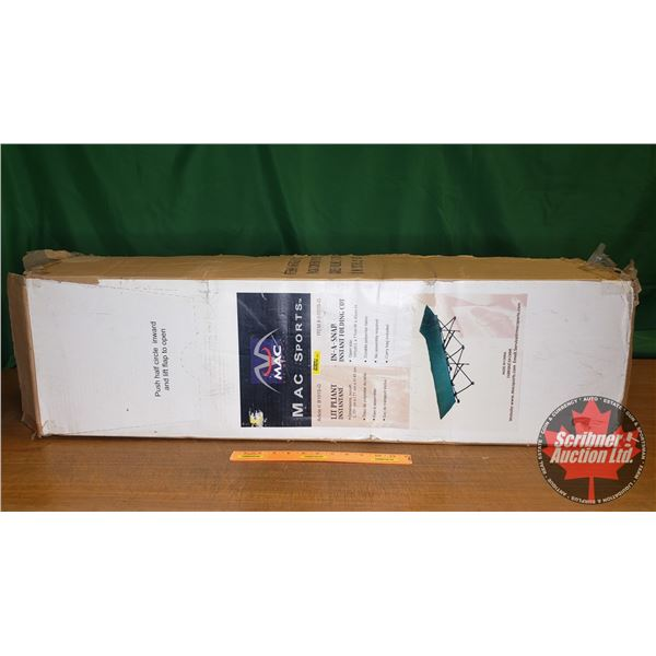 Mac Sports In-A-Snap Instant Folding Cot (New in Box) (Open Size: L191cm x W71cm x H45cm)