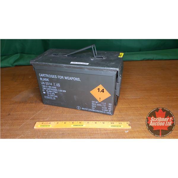 """Ammo Box (11-1/2""""L x 6""""W x 7""""H)"""