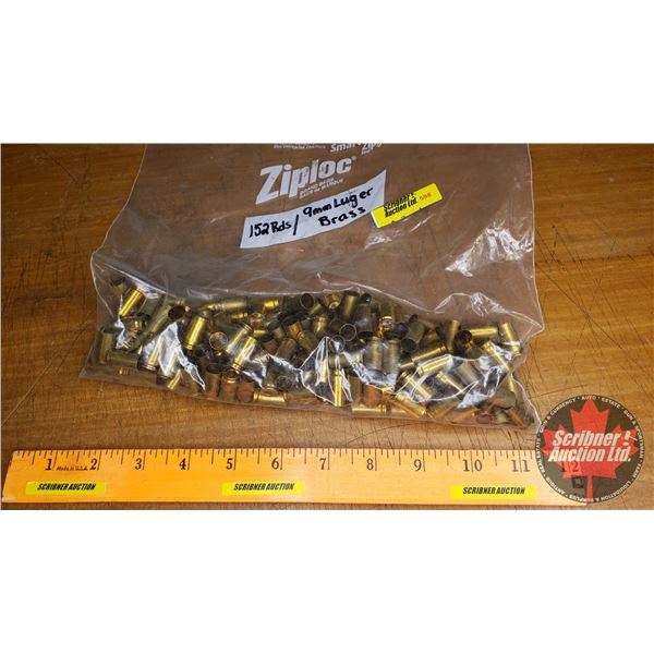 BRASS: 9mm Luger (152 Count)