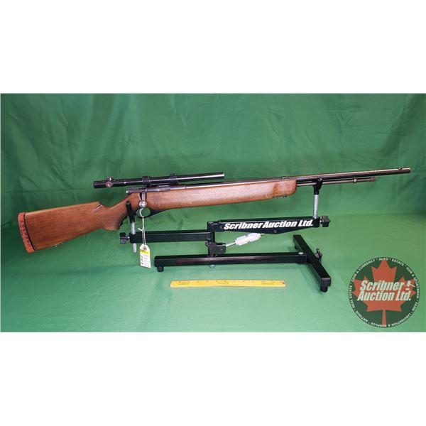 Rifle: Mossberg 46B Bolt 22LR w/Mossberg M4c Scope (S/N# N/A)