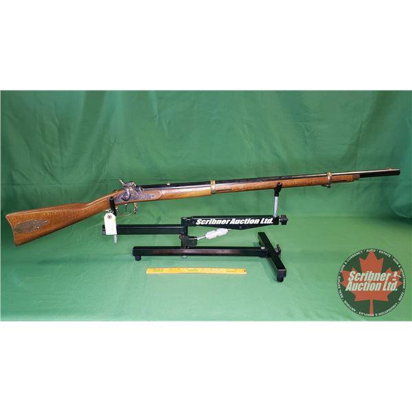 Rifle: FIE Black Powder Muzzle Loader 58cal Percussion Cap (S/N#1261)