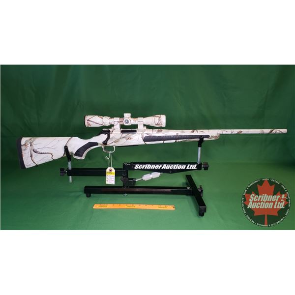 Rifle: Thompson Center Venture 204 Ruger (Snow Camo) w/Scope 3-12x40 (S/N#U033023)