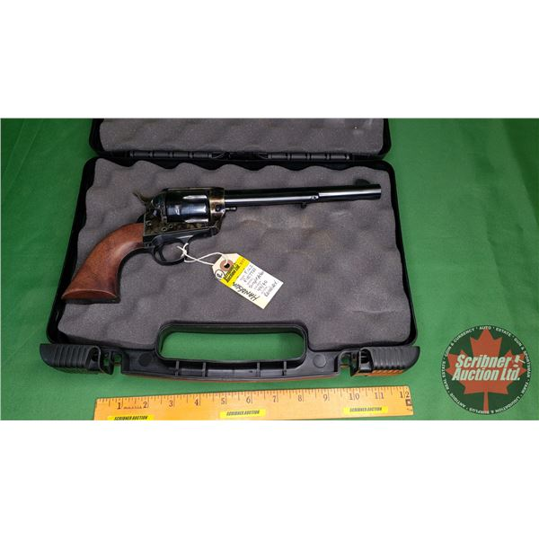 Handgun ( R ): Pietta Colt 1873 Single Action Army Reproduction Revolver 44-40 Win w/Carry Case (S/N