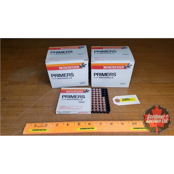 PRIMERS: Winchester For Shotshells (2100 Count)