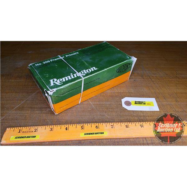 PRIMERS: Remington No. 209 Premier (1000 Count)