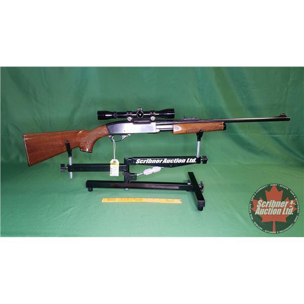 Rifle: Remington Model 670 GameMaster 270Win - Pump ~ w/Scope 4x32 Bushnell Sportview (No Clip)  (S/