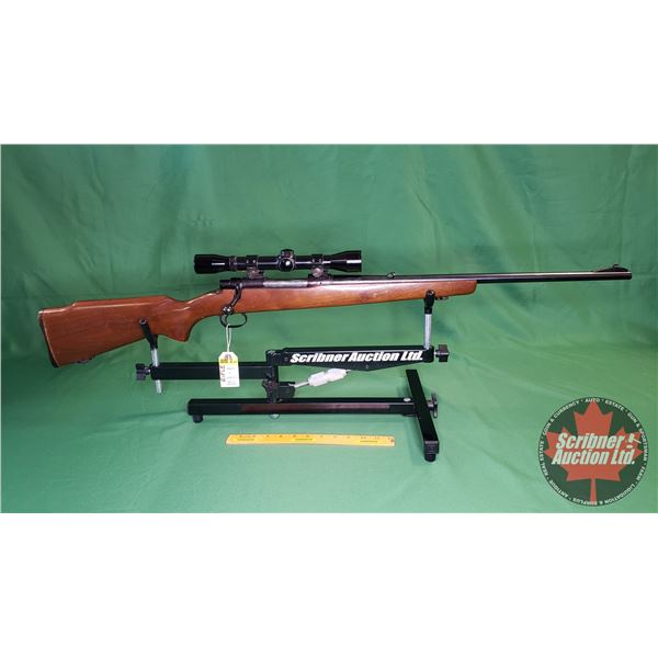 Rifle: Cooey 71 - 270 Win ~ Bolt Action w/Scope 4X Banner by Bushnell (S/N#B150)