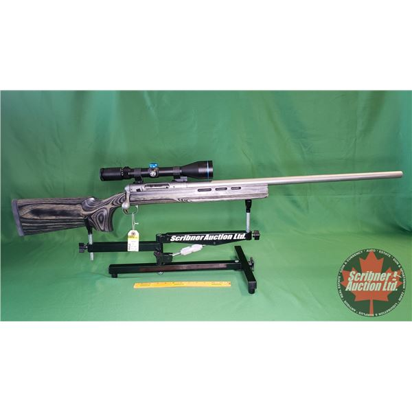 Rifle : Savage 12 Bolt Action 6.5 x 284 (c/w Scorpion 4-16x50 Scope) w/Custom Turret (S/N#H918062)