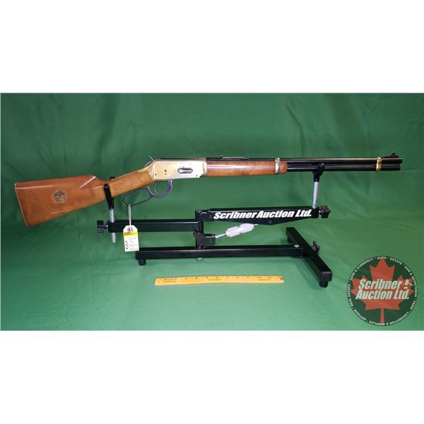 """Rifle : Winchester 94 Lever 30-30 Win """"Golden Spike Commemorative 1869-1969"""" (One Owner) S/N#GS35578"""