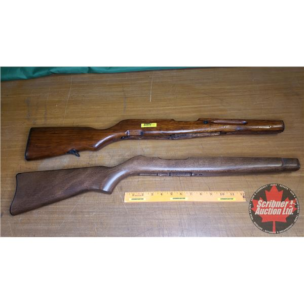 Gun Stocks (2): Ruger 10/22 & SKS