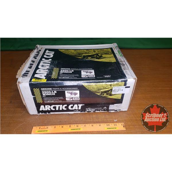 New Surplus: Arctic Cat - WARN 2500lb Winch Kit