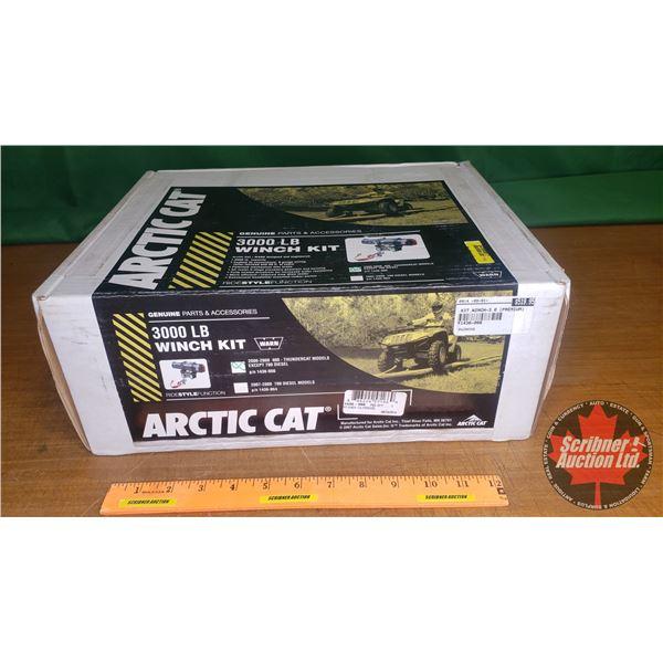 New Surplus: Arctic Cat - WARN 3000lb Winch Kit