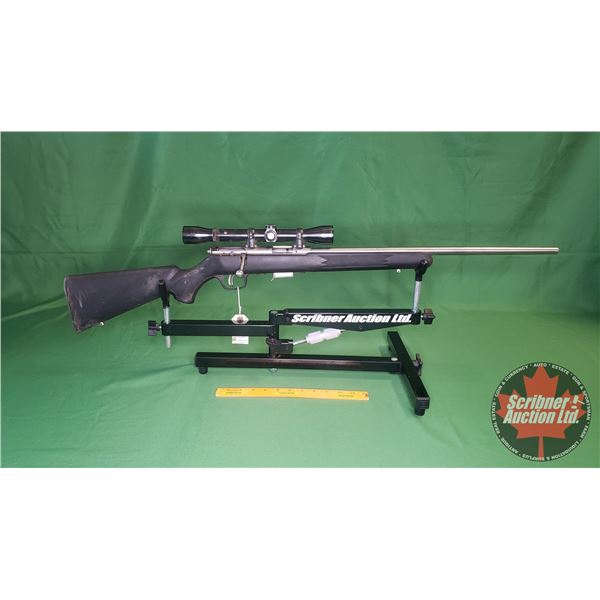Rifle: Savage 17HMR Bolt Action 93R17 comes with Weaver K4 Scope - Bolt Action (S/N#1752607)
