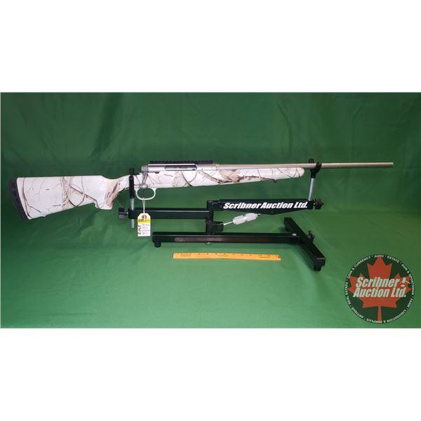 Rifle: Savage AXIS 22-250Rem Bolt Action (Snow Camo) w/Scope Rail (S/N#J563873)