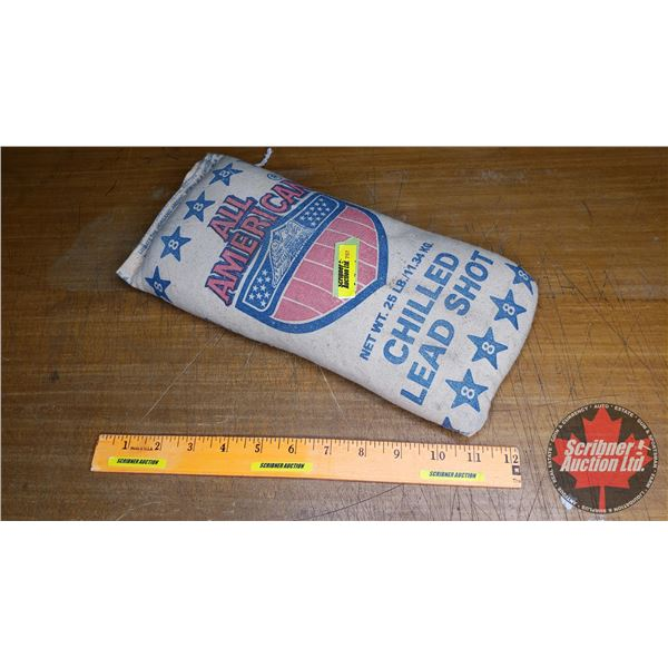 All American chilled lead shot No. 8 (25lb Bag)