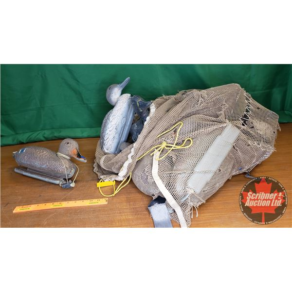 Sack Lot: Floating Duck Decoys (12)