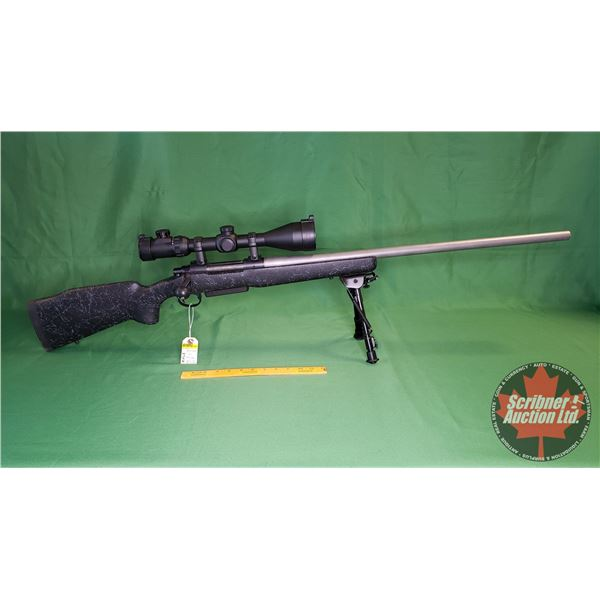 Rifle: Remington 700 Bolt Action 264 Win Mag (c/w Sun Optics Scope 5-30x56 & Bi-Pod) (S/N#6358055