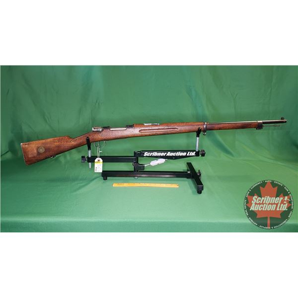 Rifle: Carl Gustaf 1896 Bolt Action 6.5 x 55 (Swedish Mauser) (S/N#462451)